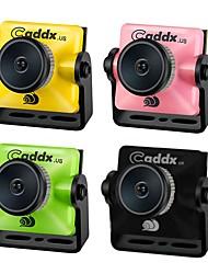 Недорогие -caddx turbo micro f2 1/3 fpv камера cmos 2.1 мм 1200tvl 169/43 нтс / пал видеокамера с низкой задержкой fpv ж / микрофон