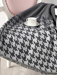 Недорогие -Многофункциональные одеяла, В клетку Хлопок / полиэфир Мягкость одеяла