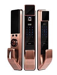 Недорогие -автоматическая блокировка отпечатков пальцев домашней безопасности дверной замок отпечатков пальцев полупроводниковый электронный замок смарт-замок