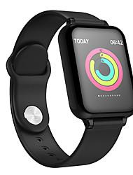 Недорогие -as02 smart watch bt 4.0 фитнес-трекер с поддержкой уведомлений и пульсометром, совместимый с apple / samsung / androids mobile