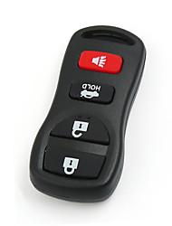 Недорогие -4 кнопки автомобиля брелок для 2002-2006 Nissan Altima и 2002-2006 Nissan Maxima FCCID Kbrastu15