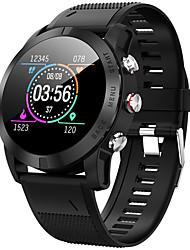 Недорогие -Смарт Часы Цифровой Современный Спортивные силиконовый 30 m Защита от влаги Пульсомер Bluetooth Цифровой На каждый день На открытом воздухе - Черный Серебряный