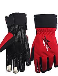 Недорогие -зимние мотоциклетные перчатки сохраняют тепло с вытянутой манжетой защищают запястье водонепроницаемым сенсорным экраном езда перчатки