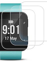 Недорогие -защитная пленка для экрана garmin forerunner 35 закаленное стекло прозрачное высокое разрешение (hd) 1 шт стойкость к царапинам / твердость 9 ч