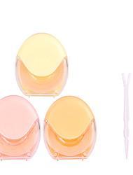 Недорогие -Веко Простой / Легко для того чтобы снести / Ультралегкий (UL) Составить 1 pcs Ластик Глаза / Повседневные Повседневный макияж Натуральный Non Toxic На каждый день косметический