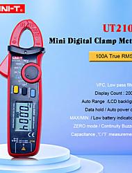 Недорогие -Цифровой токоизмерительный прибор uni-t ut210e true rms auto range ut210d 2000 отсчет жк-дисплей мультиметры мегомметр