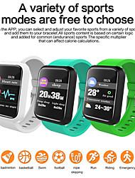 Недорогие -Sm01 умный браслет фитнес-трекер водонепроницаемый смарт-группа измерения артериального давления часы браслет