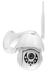 Недорогие -Wanscam K38D 4-кратный цифровой зум 1080p 2-мегапиксельная IP-камера инфракрасного ночного видения 15 м открытый IP66 водонепроницаемый 2,5-дюймовый сетевой P2P камеры видеонаблюдения безопасности