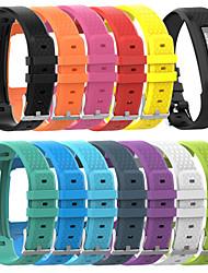 Недорогие -большой размер силиконовый браслет ремешок замена ремешок для часов для Garmin vivofit 1/2