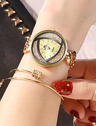 Недорогие -Soxy женские часы-браслет золотые и серебряные черные трехцветные нерегулярные узоры элегантные платья часы
