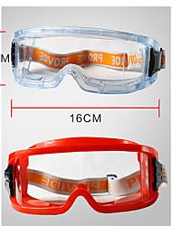 Недорогие -1 коробка поликарбонатный противогаз&усилитель; очки защитные очки&усилитель; защитное снаряжение прохладный пылезащитный износостойкий