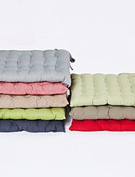 Недорогие -1 штук Хлопок / Лён Наволочка и вставка, Однотонный Текстура Простой Пастораль Бросить подушку