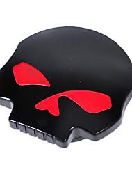 Недорогие -Прохладный мотоцикл чпу алюминиевый череп глаз бензин бензобак для харли дэвидсон