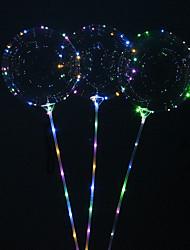 Недорогие -Многоразовые светящиеся светодиодные воздушный шар круглый пузырь украшения свадьба инфантили вечеринка по случаю дня рождения декор