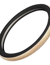 Недорогие -litbest чехлы на рулевом колесе искусственная кожа / резина 38см золотистый хрусталь горный хрусталь на все годы / универсальный