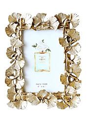 Недорогие -рамка для фотографий ретро золотые листья гинкго картина украшения фоторамка