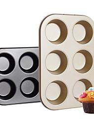 Недорогие -1шт Нержавеющая сталь Специальный материал обожаемый 3D Своими руками Для торта Круглый Формы для пирожных Инструменты для выпечки