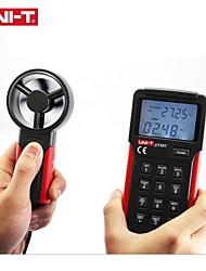 Недорогие -Анемометр Uni-T UT361 Удержание данных измеритель скорости ветра Цифровой тахометр Жк-подсветка Расходомер воздуха Измерение температуры с хранением данных