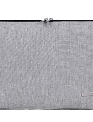 Недорогие -Нейлон Молнии Чехол для ноутбука Сплошной цвет Повседневные Темно-серый / Светло-серый