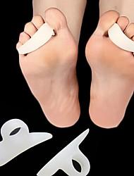Недорогие -1 пара ноги облегчение боли колодки уход за ногами обувь гель корректор ног молоток пальцы сепаратор протектор подушки