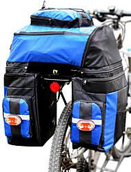 Недорогие -FJQXZ 70 L Сумка на багажник велосипеда / Сумка на бока багажника велосипеда 3 В 1 Регулируется Большая вместимость Велосумка/бардачок Полиэстер 1680D Велосумка/бардачок Велосумка
