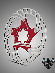 Недорогие -Велосипедные дисковые тормоза Шоссейный велосипед / Горный велосипед Мощность / Прочный / Простота установки Нержавеющая сталь Черный / Красный