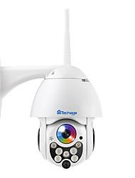 Недорогие -Беспроводная камера видеонаблюдения водонепроницаемый открытый пульт дистанционного управления ночного видения полноцветный PTZ HD купольная камера 2 миллиона 1080p с фиксированным фокусом
