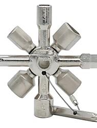 Недорогие -многофункциональные универсальные крестообразные ключи 10 в 1 треугольник для газовых инструментов