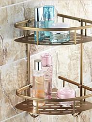 Недорогие -Полка для ванной Креатив Modern Латунь 1шт - Ванная комната На стену