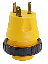 Недорогие -Высокопроизводительный адаптер с электрическим замком на 30V штекер на 30a штекер