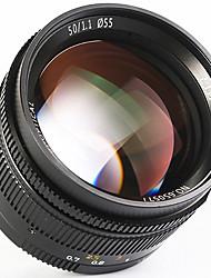 Недорогие -7Artisans Объективы для камер 7Artisans 50mmF1.1LM-BforФотоаппарат