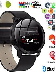 povoljno -cf18 pametni sat bt fitness tracker podrška obavijesti / monitor brzine otkucaja srca / vodootporan smartwatch kompatibilni ios / android telefoni