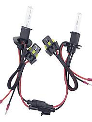 Недорогие -2 шт. / Компл. 55 Вт h3 hid ксеноновые фары комплект для переоборудования 3000-12000 К для автомобильного комплекта лампочка * 2 балласта * 2 цветовая температура6000 К