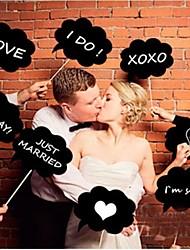Недорогие -Реквизит и значки для фотографии / Свадебные украшения Для вечеринок / фестиваль Свадьба Все сезоны