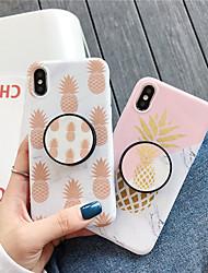 Недорогие -чехол для яблока iphone xs / iphone xr / iphone xs max с подставкой / выкройка задней крышки с изображением еды для iphone 6 6 плюс 6s 6s плюс 7 8 7 плюс 8 плюс x xs