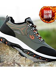 Недорогие -Муж. Комфортная обувь Полиуретан Осень Спортивная обувь Для пешеходного туризма Черный / Светло-Зеленый / Желтый / Атлетический