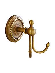 Недорогие -Крючок для халата Креатив Античный / Традиционный Латунь / Нержавеющая сталь / железо Ванная комната / Гостиничная ванна На стену