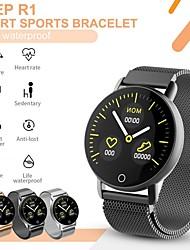 Недорогие -держать умные часы r1 северный край спорт артериальное давление пульс мультифункция здоровье фитнес трекер smartwatch