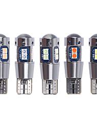 Недорогие -2 шт. T10 светодиодные w5w 192 168 высокое качество 3030 10smd светодиодные автомобильные лампы для чтения купола авто габаритные фонари клин задние боковые лампочки