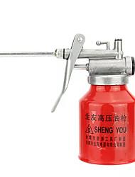 Недорогие -250cc смазочный материал масляный пистолет металлический насос высокого давления может горшок алюминиевая крышка