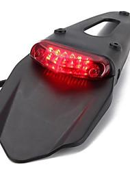 Недорогие -светодиодный мотоцикл красный задний фонарь для велосипеда грязи уличный автомобиль аксессуары для мотоциклов