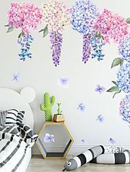 Недорогие -стикеры на шаре с фиолетовым цветком в виде лаванды - стикеры на стенах животных