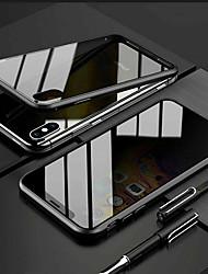 Недорогие -для iphone x xs 7 8 360 двойное закаленное стекло анти-шпион уединение крышка телефона чехол