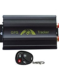 Недорогие -Автомобиль GPS-трекер дистанционного управления платформой Quad Band SD-карты GPS103 GPS GSM трекер