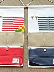 Недорогие -Сумка для хранения Кожа Многослойный Аксессуар 1 сумка для хранения Сумки для хранения домашних хозяйств