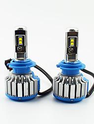 Недорогие -2шт / комплект автомобиля светодиодные фары h1 / h4 / h7 / 9005 ярко-белые замена светодиодных ламп