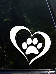 povoljno -Naljepnica stražnjeg staklenog repa u obliku branika za pseće šape