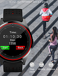 Недорогие -Смарт Часы Цифровой Современный Спортивные силиконовый 30 m Защита от влаги Пульсомер Bluetooth Цифровой На каждый день На открытом воздухе - Зеленый Черный / Синий Черный / зеленый