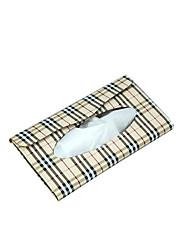 povoljno -230 * 115 * 22 mm štitnik za sunce automobil kožna tkanina kutija za ukrašavanje automobila ubrus držač papirnati ručnik kutija model tkanina kutija