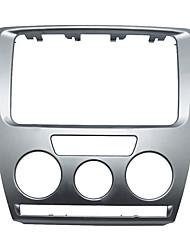 Недорогие -автомобильная 2din dvd / cd радио стерео переоснащение рамка облицовка панели для Skoda Octavia (2007 2009)